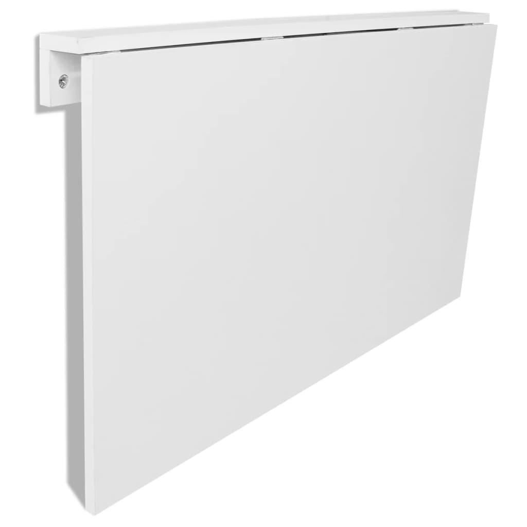 Kokkupandav seinalaud, valge 100 x 60 cm