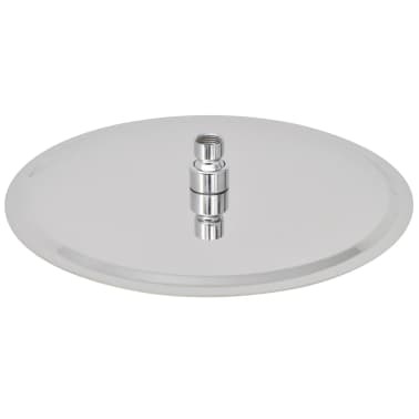 vidaXL Nerūdijančio plieno dušo galvutė, Rain, 30 cm, Apvali[3/6]