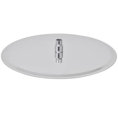 vidaXL Nerūdijančio plieno dušo galvutė, Rain, 40 cm, Apvali[3/6]