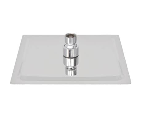 vidaXL Nerūdijančio plieno dušo galvutė, Rain, 20 x 20 cm, Kvadratinė[3/6]