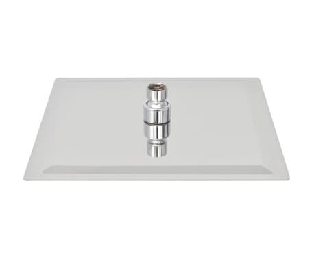 vidaXL Nerūdijančio plieno dušo galvutė, Rain, 25 x 25 cm, Kvadratinė[3/6]