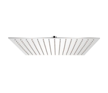 vidaXL Tropický déšť sprchová hlavice nerezová ocel 40x40 cm čtverec
