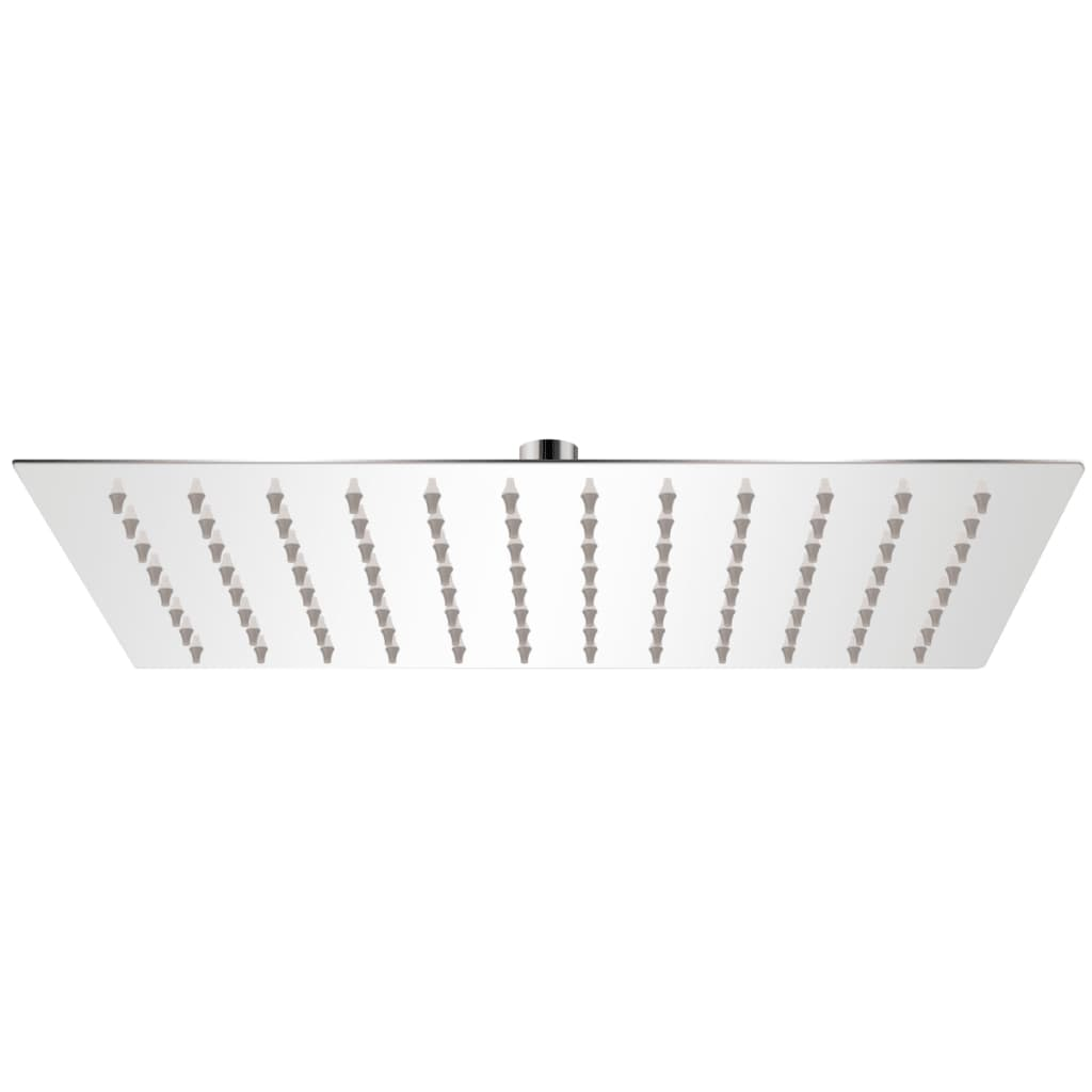 vidaXL Rain Shower Head Stainless Steel 20x30 cm Rectangular
