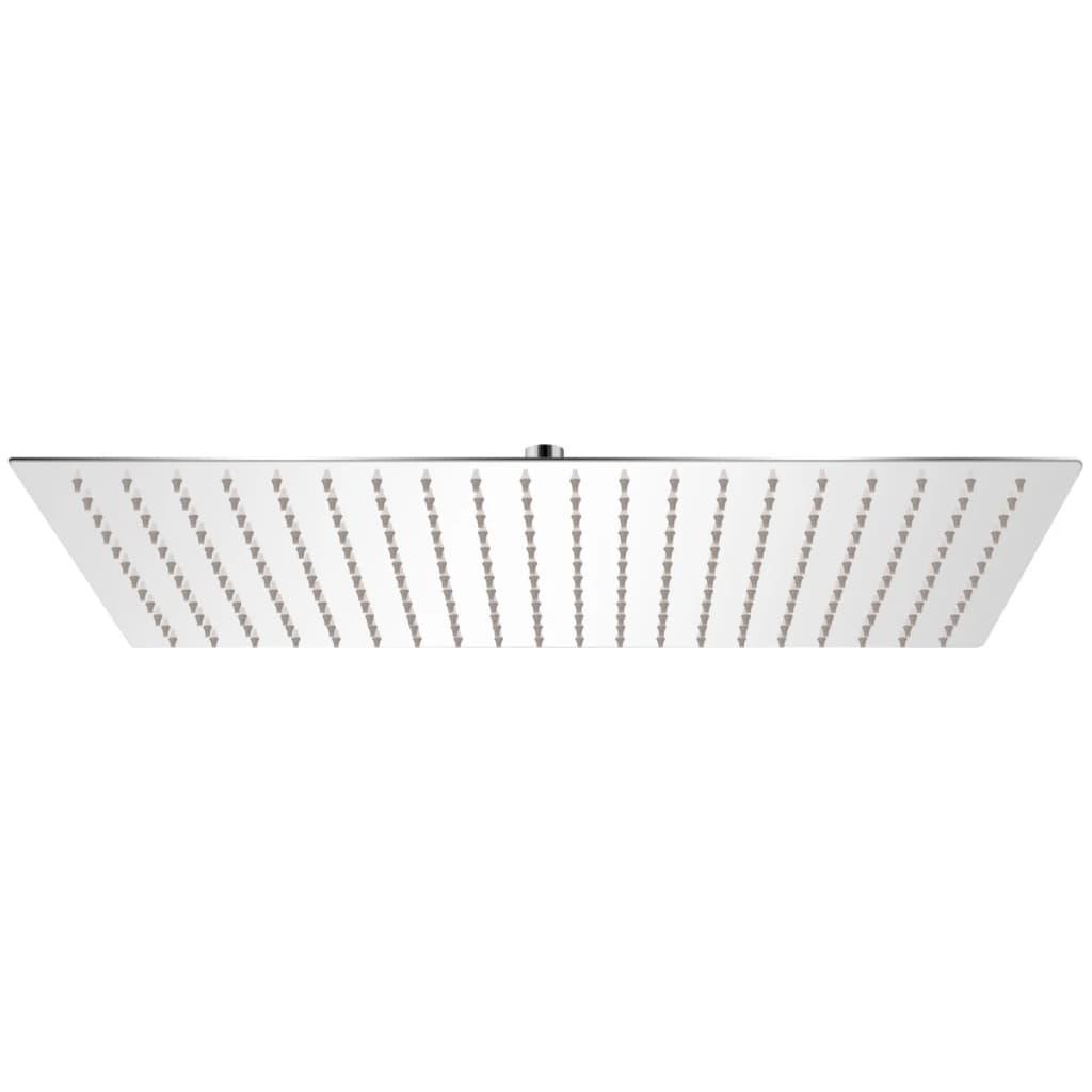 vidaXL Cap de duș dreptunghiular tip ploaie, oțel inoxidabil, 30x50 cm poza vidaxl.ro