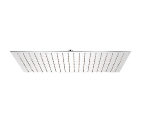 vidaXL Takduschhuvud rostfritt stål 30 x 50 cm rektangulärt[1/6]