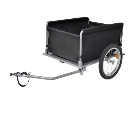 vidaXL cykelanhænger sort og gul 65 kg[3/6]