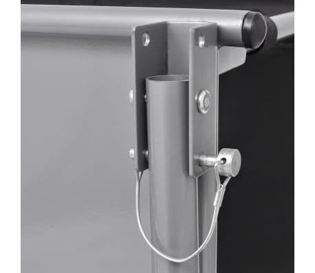 vidaXL cykelanhænger sort og gul 65 kg[5/6]