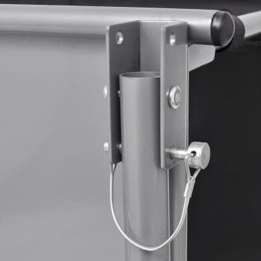 vidaXL Fahrrad-Lastenanhänger Schwarz und Gelb 65 kg[5/6]