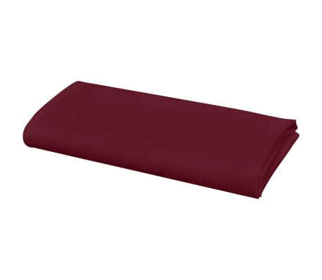 vidaXL Pietų stalo servetėlės, 10 vnt., vyšninės spalvos, 50x50 cm[3/4]