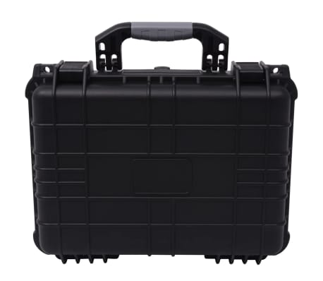 vidaXL Boîte de protection pour équipement 40,6 x 33 x 17,4 cm noir[2/7]