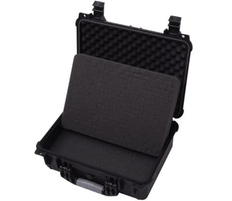vidaXL Boîte de protection pour équipement 40,6 x 33 x 17,4 cm noir[4/7]