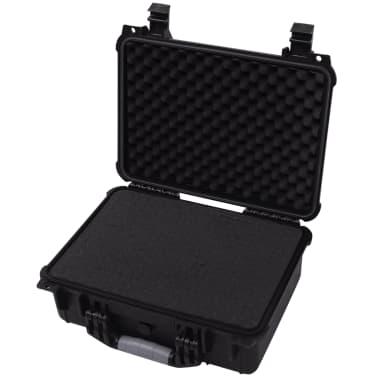 vidaXL Boîte de protection pour équipement 40,6 x 33 x 17,4 cm noir[3/7]