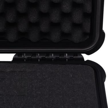 vidaXL Boîte de protection pour équipement 40,6 x 33 x 17,4 cm noir[6/7]