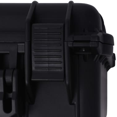vidaXL Boîte de protection pour équipement 40,6 x 33 x 17,4 cm noir[7/7]