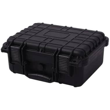 vidaXL Universalkoffer 35x29,5x15 cm Schwarz[1/7]