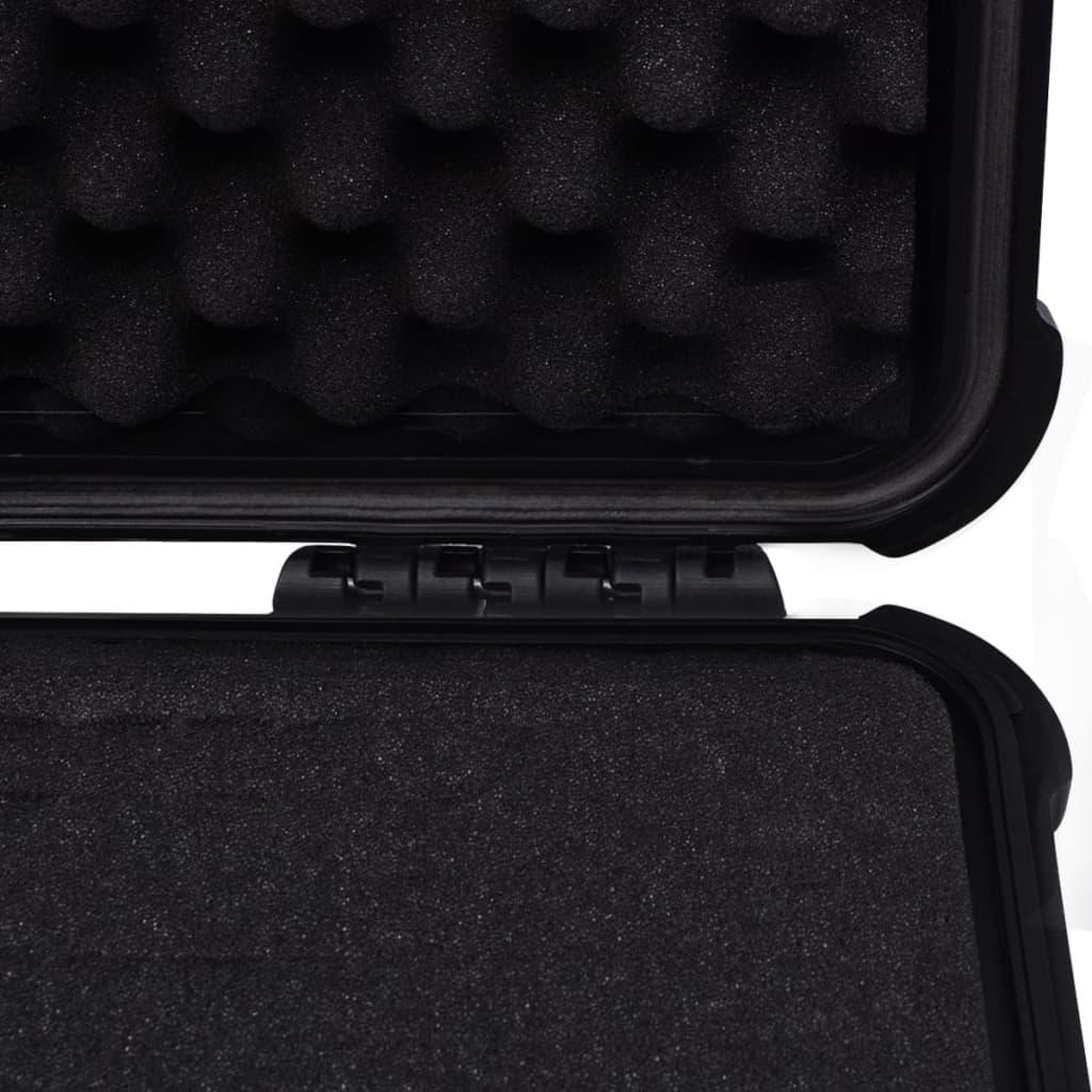 vidaXL Zaštitni Kovčeg za Opremu 35x29,5x15 cm Crni