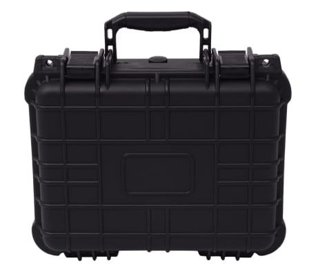 vidaXL Universalkoffer 35x29,5x15 cm Schwarz[2/7]