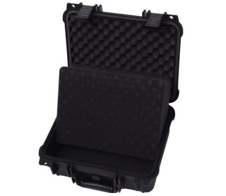 vidaXL Beschermende materiaalkoffer 35x29,5x15 cm zwart[4/7]