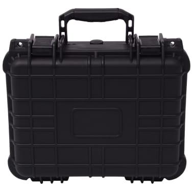 vidaXL Beschermende materiaalkoffer 35x29,5x15 cm zwart[2/7]