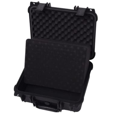 vidaXL Maletín Protector para Equipos 35x29,5x15 cm Negro[4/7]