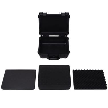 vidaXL Beschermende materiaalkoffer 35x29,5x15 cm zwart[5/7]