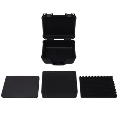 vidaXL Maletín Protector para Equipos 35x29,5x15 cm Negro[5/7]