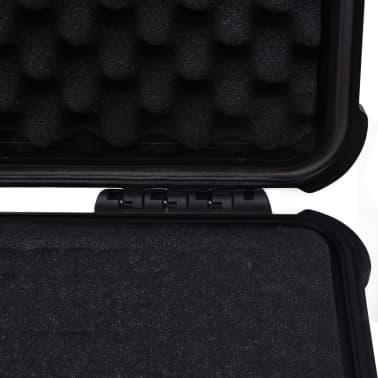 "vidaXL Protective Equipment Case 13.8""x11.6""x5.9"" Black[6/7]"