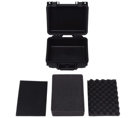 vidaXL Boîte de protection pour équipement 27 x 24,6 x 12,4 cm noir[5/7]