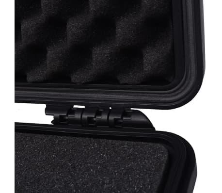 vidaXL Lagaminas įrangai, 27x24,6x12,4 cm, juodos spalvos[6/7]