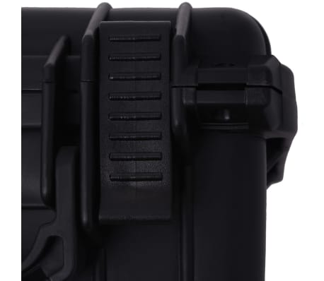vidaXL Lagaminas įrangai, 27x24,6x12,4 cm, juodos spalvos[7/7]