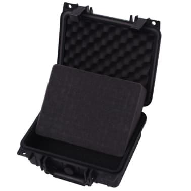 vidaXL Boîte de protection pour équipement 27 x 24,6 x 12,4 cm noir[4/7]