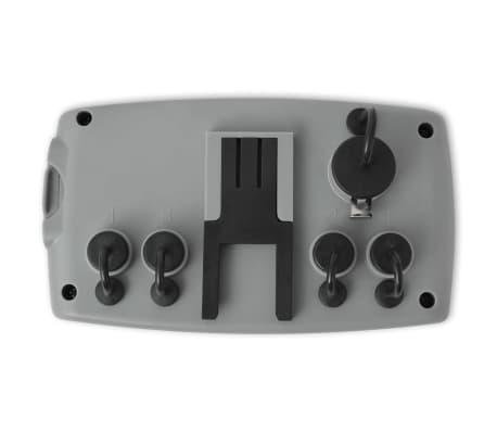 vidaXL Minuterie d'arrosage automatique avec 4 stations 3 V[4/6]