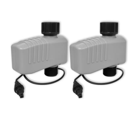 vidaXL Minuterie d'arrosage automatique avec 4 stations 3 V[6/6]