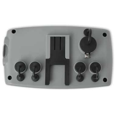 vidaXL Temporizador de riego automático con 4 estaciones 3 V[4/6]