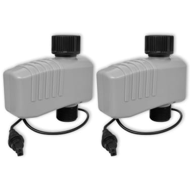 vidaXL Temporizador de riego automático con 4 estaciones 3 V[6/6]