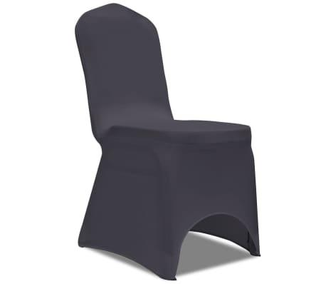 Housse extensible de chaise pour mariage banquet conf rence multicolore 6 psc ebay - Housse extensible pour chaise ...