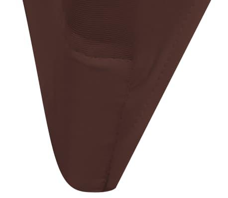 9d246ed5ba5c Handla vidaXL Stolsöverdrag 6 st brun   vidaXL.se
