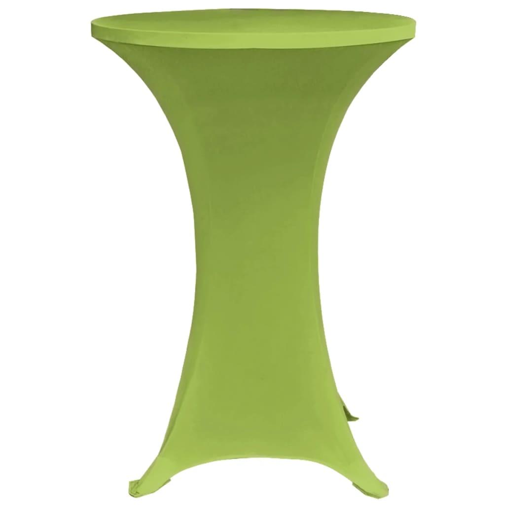 vidaXL Tafelhoes stretch 2 stuks 60 cm groen