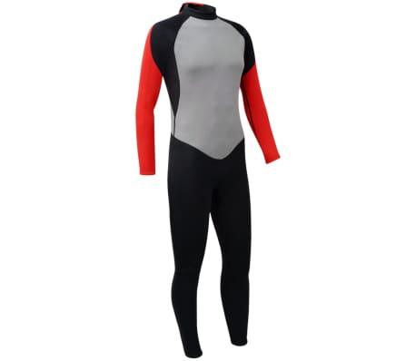 vidaXL Fato de mergulho, corpo inteiro, homem, XXL 185-190 cm 2,5 mm