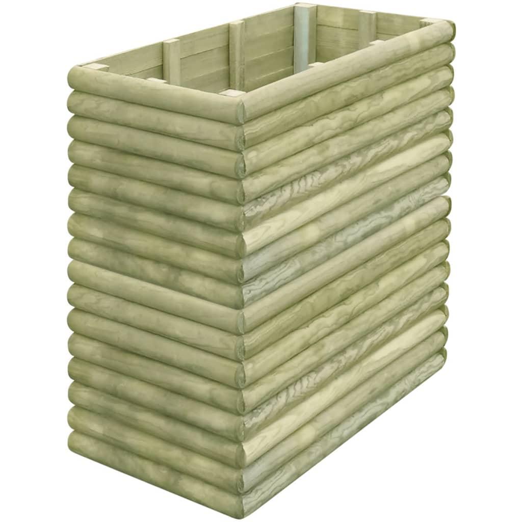 vidaXL Zahradní truhlík 106x56x96 cm impregnované borové dřevo