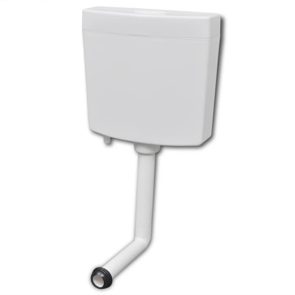 vidaXL Splachovací WC nádržka 3/6 l bílá