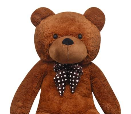 vidaxl teddy bear cuddly toy plush brown 200 cm vidaxl. Black Bedroom Furniture Sets. Home Design Ideas