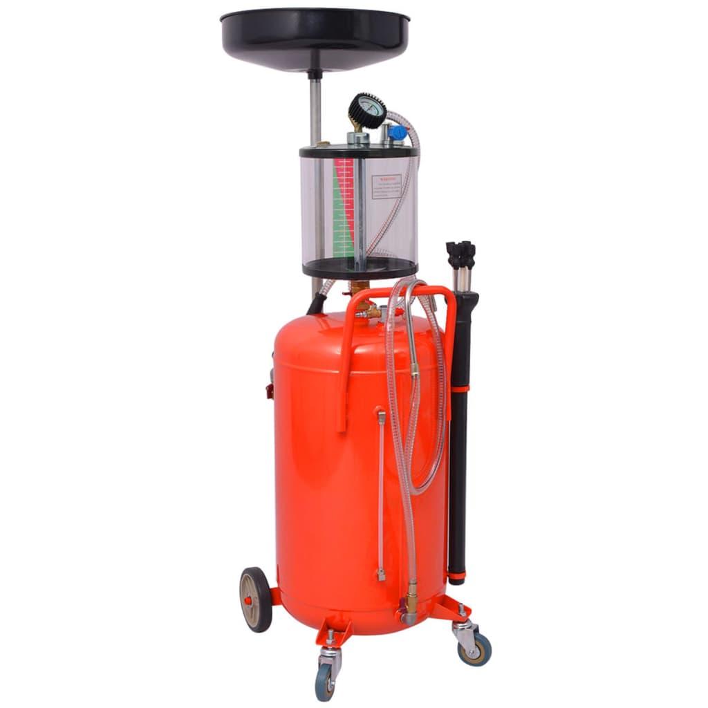 vidaXL Rezervor decantare ulei uzat, 70 L, roșu vidaxl.ro