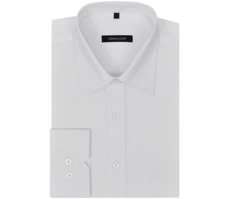 vidaxl chemise pour hommes taille xl blanc. Black Bedroom Furniture Sets. Home Design Ideas