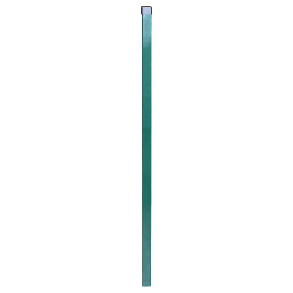 vidaXL Dubbelstaafmatten en palen 2008x1430 mm 6 m groen