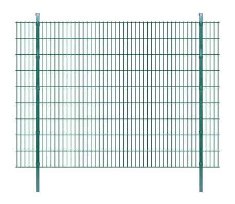 vidaXL Panneaux et poteaux de clôture 2D pour jardin 2008x1830 mm 14 m[1/9]
