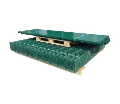 vidaXL Panneaux et poteaux de clôture 2D pour jardin 2008x1830 mm 14 m[2/9]