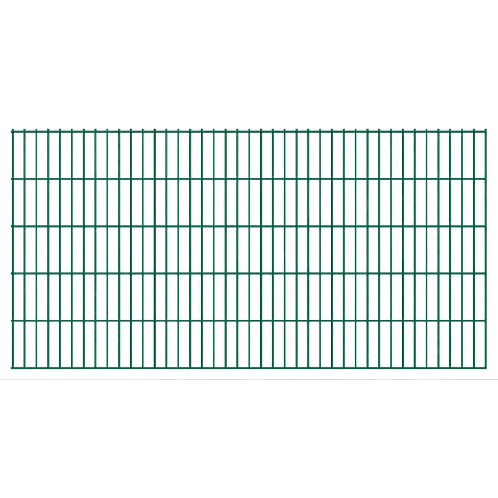 vidaXL 2D Zahradní plotové dílce 2008x1030 mm 50 m zelené