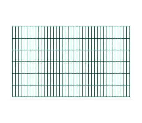 vidaXL Panneaux de clôture 2D pour jardin 2008x1230 mm 32 m Vert[1/5]