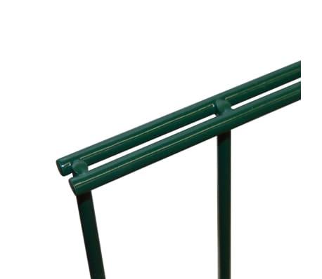 vidaXL Panneaux de clôture 2D pour jardin 2008x1630 mm 32 m vert[4/5]